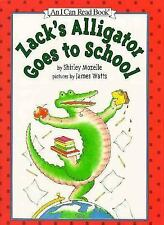 An I Can Read Book - Zack's Alligator Goes to School Hardcover Book Exc.