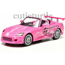 Greenlight 2 Fast And 2 Furious Suki's 2001 Honda S2000 1:43 Pink 86225