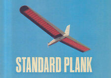 """Large Scale STANDARD PLANK scratch build r/c GLIDER Plans & Instruction 100""""WS"""