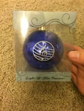 Christmas Ornament Light Up Glass Ornament New