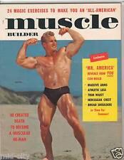 Muscle Builder Bodybuilding Jack Delinger 1949 AAU Mr America 5-56