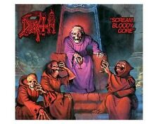 DEATH scream bloody gore 2012 oblong VINYL STICKER official merchandise (sealed)