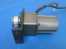 Panisonic Electric Industrial Motor M/N M6RA6G4Y w/Gear Head M/N M6GA20M