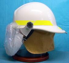 Bullard Firedome PX Thermoplastic Firefighter Helmet + liner & face shield