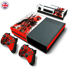 DEADPOOL XBOX ONE Wrap Skin Sticker Dust Cover MARVEL