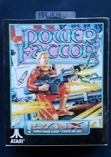 POWER FACTOR  (1992) Atari LYNX New Factory Sealed Complete
