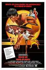 Game Of Death Poster 01 A2 Box Canvas Print