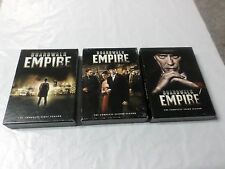 Boardwalk Empire DVD Boxset Complete Seasons 1, 2,3 First Second Third Movie