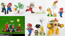 Nintendo Mario 5 Characters and 5 Diorama S.H.Figuarts Playing Set