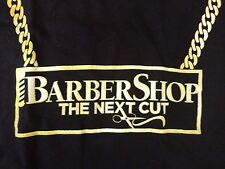 BarberShop the Next Cut T-Shirt S Small NWT Gold Chain Barber Shop Movie