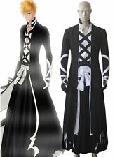 Bleach Ichigo Kurosaki Uniform Anime Cosplay Costume