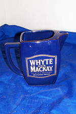 Whyte and Mackay Whisky Jug Pitcher Scotch Whiskey Advertising Water Distillery