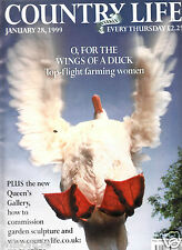 Country Life Weekly O, For The Wings Of A Duck (January 28 1999)