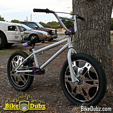 BikeDubz Mayhem - 20 Inch Disc Wheel Covers For BMX Bicycle Fits Colony Bikes