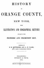 1881 ORANGE County New York NY, History and Genealogy Ancestry Family DVD CD B25