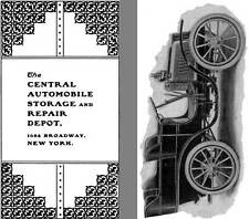 Morisse 1902 - The Central Automobile Storage and Repair Depot