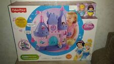Fisher Price Little People Princess Songs Palace w/ Cinderella & Snow White NEW