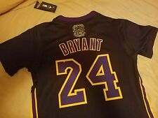 KOBE BRYANT 5X CHAMPION HOLLYWOOD NIGHTS JERSEY SIZE M ((FITTED TRUE TO SIZE))