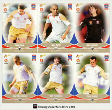 2006-07 Select A League Soccer Trading Cards Base Team Set Newcastle Jets (12)