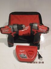 Milwaukee M12 Fuel Red Lithium 2.0/XC 4.0 2-Tool Combo Kit-F/SHIP NWOB-UPGRADED!