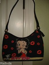 BETTY BOOPS PURSE BLACK 2004  NWOT