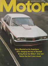 Motor magazine 2/2/1974 featuring Jeep CJ-5 road test