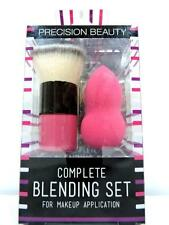 Precision Beauty Complete Blending Set (Brush & Sponge) | NIP NEW Hypoallergenic