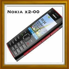Nokia X2-00 Mobile Phone With Original nokia charger and Battery With Box.