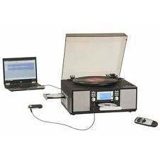 Encore 7-in-1 Stereo System with CD Recorder / Player, Turntable & Radio