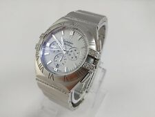 Omega Constellation Double Eagle Co-Axial Watch w/ 132 Diamonds - 1514.20.00