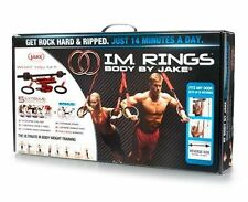 New Body By Jake I.M. Rings Weight Strength Olympic Training Workout Abs 7 DVDs