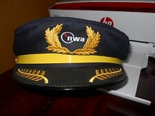 Pilot Hat Northwest Airlines NWA Souvenir Crew Cap Child's Costume Discontinued