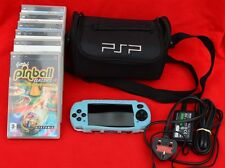 SONY PSP WITH SLEEVE, CASE, CHARGER AND SIX GAMES - FABULOUS CONDITION!