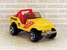 5-PACK EXCLUSIVE RESCUE ROLL PATROL JEEP CJ7 TRAILBUSTER YELLOW RED HOT WHEELS