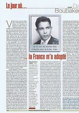 Coupure de presse Clipping 2005 Dalil Boubakeur (1 page)