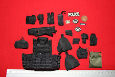 DID DRAGON IN DREAMS 1:6TH SCALE MODERN LAPD SWAT POINT MAN VEST WITH POUCHES