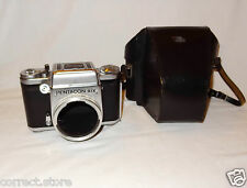 Pentacon Six body with waist level finder * tested * CASE * sn 6461 , n168