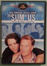jack thompson  THE SUM OF US  russell crowe   DVD