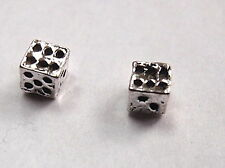 Dice Stud Earrings 925 Sterling Silver Corona Sun Jewelry die craps vegas macao