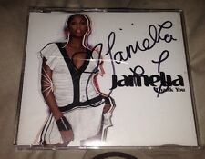Jamelia Signed Thank You Cd Single Pop Autograph 100% Genuine