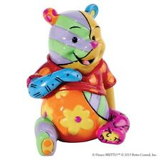 Disney by Romero Britto Winnie The Pooh Mini Figurine Ornament 6.5cm 4026296