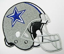 LOT OF (1) NFL DALLAS COWBOYS HELMET EMBROIDERED PATCH IRON-ON ITEM # 05