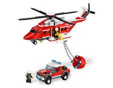 Lego City Helicóptero De Fuego (7206)