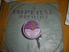 78RPM-PAT O DELL LET ME DREAM IN YOUR ARMS AGAIN/I'M PERFECTLY SATISFIED IMPERIA
