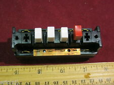GE ASP 4124-53 Switch 120V 17A Push Button   Made in USA off on on on bathroom