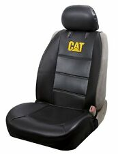 Caterpillar CAT Universal Sideless Car/Truck Seat Covers w/ Head Rest Cover