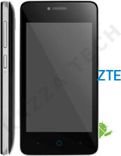"ZTE Blade C341 4"" Black Android 4.4 BT GPS SmartPhone SimFree UNLOCKED Refurb"