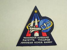 NASA Space Shuttle Mission STS-96 Discovery Embroidered Iron On Patch