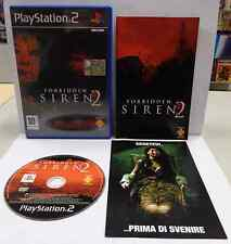Console Game Gioco SONY Playstation 2 PS2 Play PAL ITALIANO FORBIDDEN SIREN 2 It