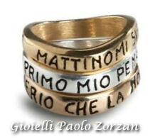 Anelli personalizzabili Ink Basic 3 anelli in argento 925 % Ref. An Tris